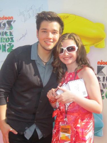 Kids Choice Awards 2012 پیپر وال possibly with sunglasses titled KCA 2012 Sweeps Winner Pics