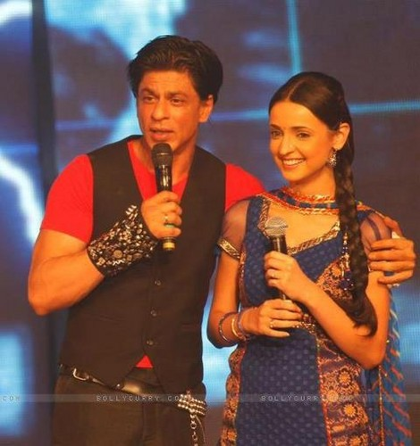 Khushi and Shahrukh Khan