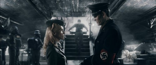 Iron Sky wallpaper probably containing a street called Klaus and Renate