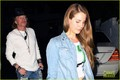 Lana Del Rey & Axl Rose Hang In Hollywood
