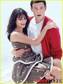 Lea Michele & Cory Monteith Covers Teen Vogue December 2010 - finn-and-rachel photo
