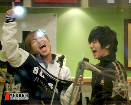 Leeteuk and Yesung