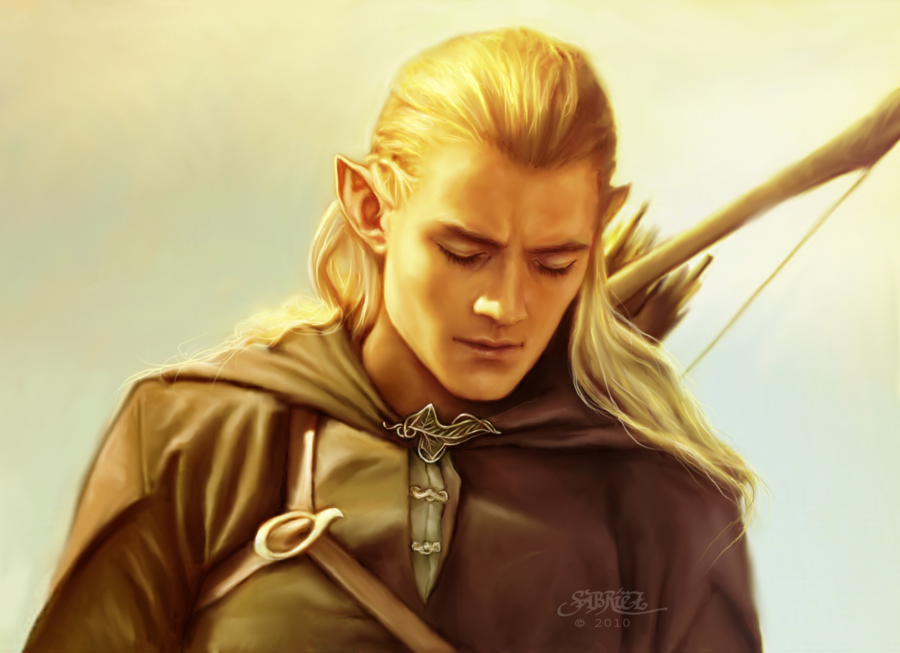 Legolas - Books Male Characters Fan Art (30336375) - Fanpop