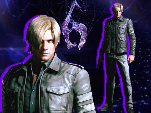 Resident Evil wallpaper probably with a concert titled Leon RE6 wallpaper