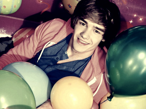Liam Payne wallpaper containing a meteorological balloon and an easter egg titled Liam....Love....