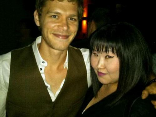 Lisa Chang and TVD Cast at Season 3 Finale Party