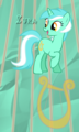Lyra. - background-ponies fan art