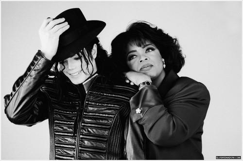 MJ with Oprah