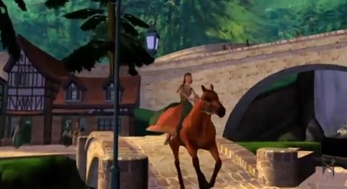 Marie Riding Horse