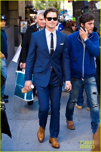 Matt Bomer on 'Glee': 'It's Not All About Shaking My Crotch!'