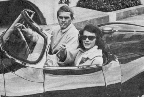 McQueen with Natalie Wood