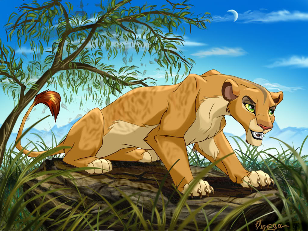 Me as a lioness