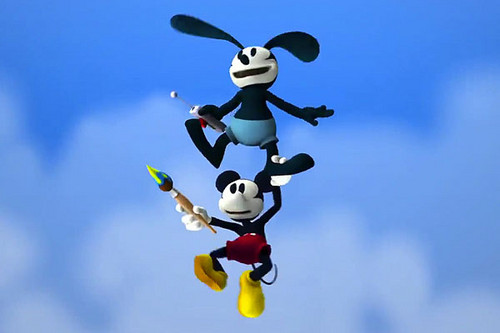 Mickey and Oswald