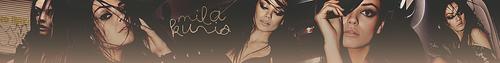 Mila Kunis Banner
