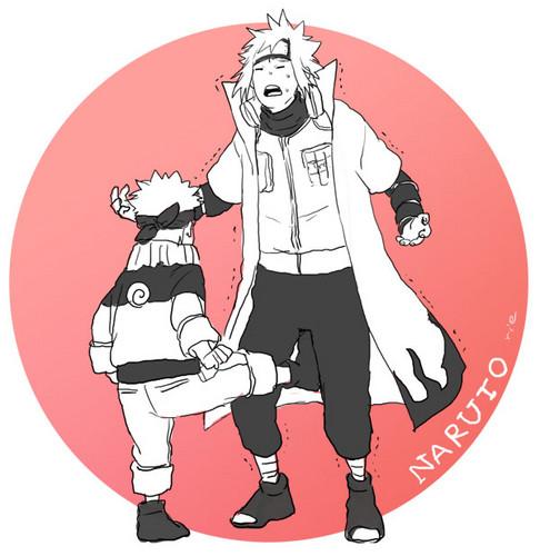 Minato and 나루토 0.o