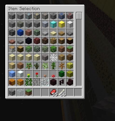 Minecrat Inventory