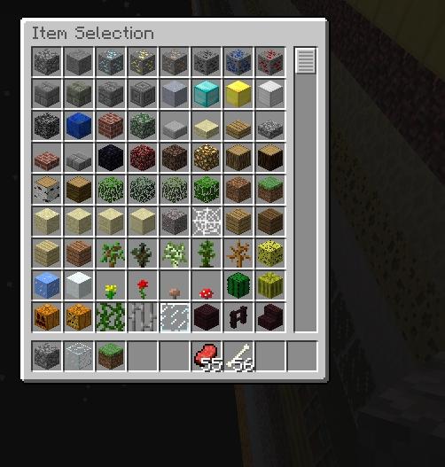 Minecraft Inventory