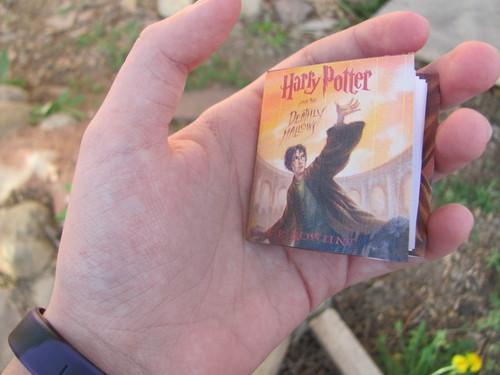 Mini Deathly Hallows book