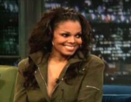 Janet Jackson wallpaper probably containing a green beret and a portrait entitled Miss Jackson