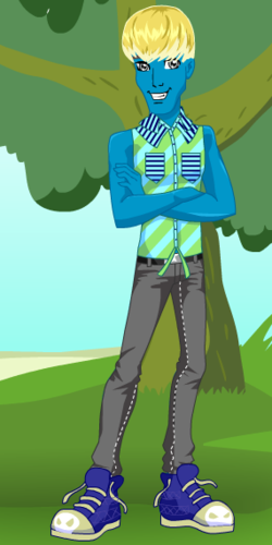 Monster High New Generation-Lagoona&#39;s son (Aqion) - monster-high Fan Art