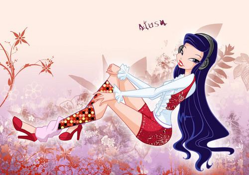 Musa, fairy of Muzik