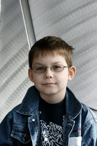 My brother,Eduard WITH glasses :P