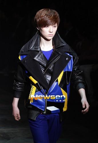 NU'EST at 'F/W 2012-2013 Seoul Fashion Walk'