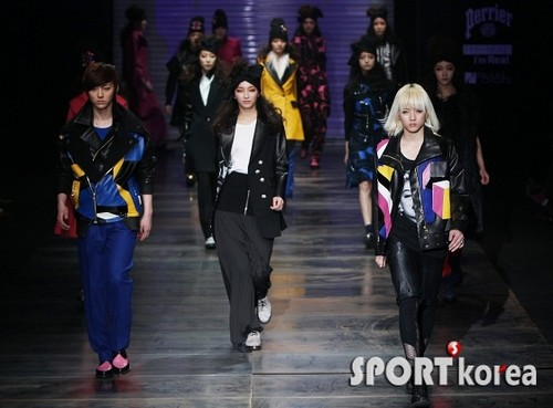 NU'EST at 'F/W 2012-2013 Seoul Fashion Walk'