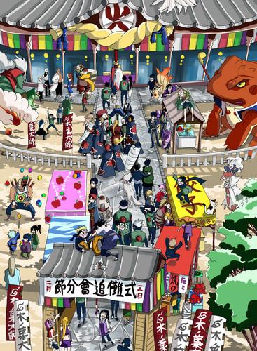 Naruto x3 - minato-namikaze Fan Art