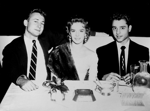 Nat, Sal Mineo and Nick Adams