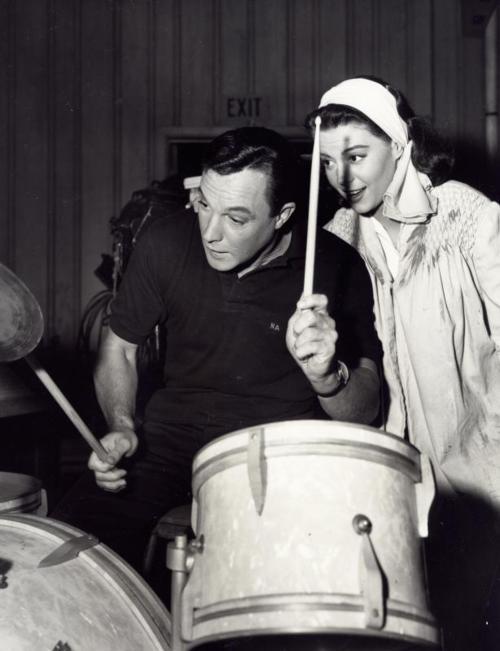 Nat and Gene Kelly