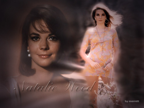 Натали Вуд Обои containing a portrait entitled Natalie Wood