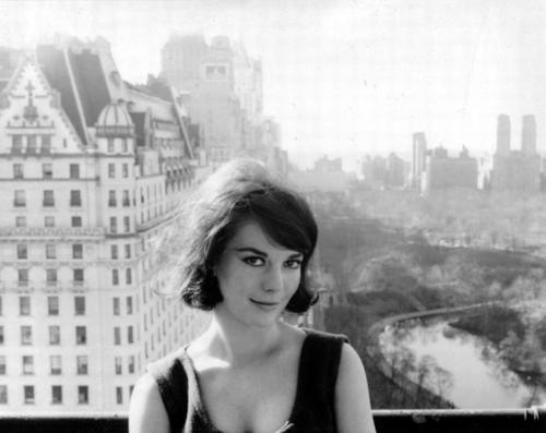 Natalie Wood wolpeyper probably with a portrait called New York photoshoot