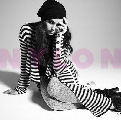 Nina Dobrev's Nylon photoshoot outtakes and Magazine scans