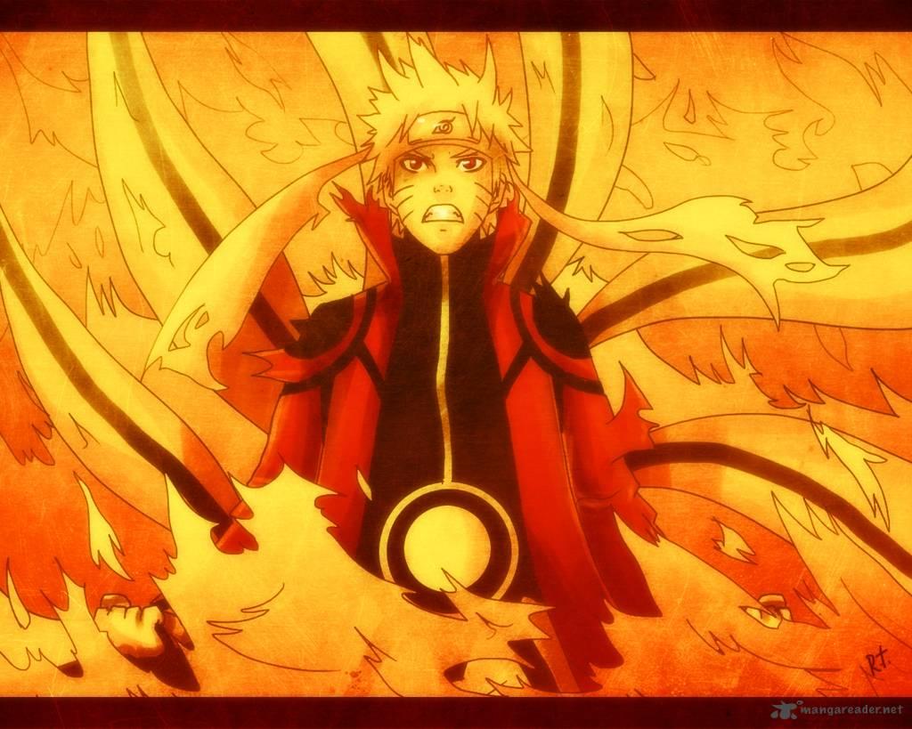 Naruto Shippuden Nine Tails Chakra Mode