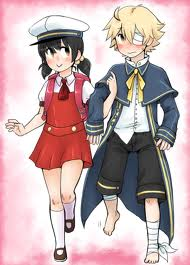 Vocaloid Oliver karatasi la kupamba ukuta probably containing anime entitled Oliver and Yuki