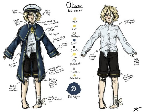 Vocaloid Oliver fond d'écran probably with animé entitled Oliver's design