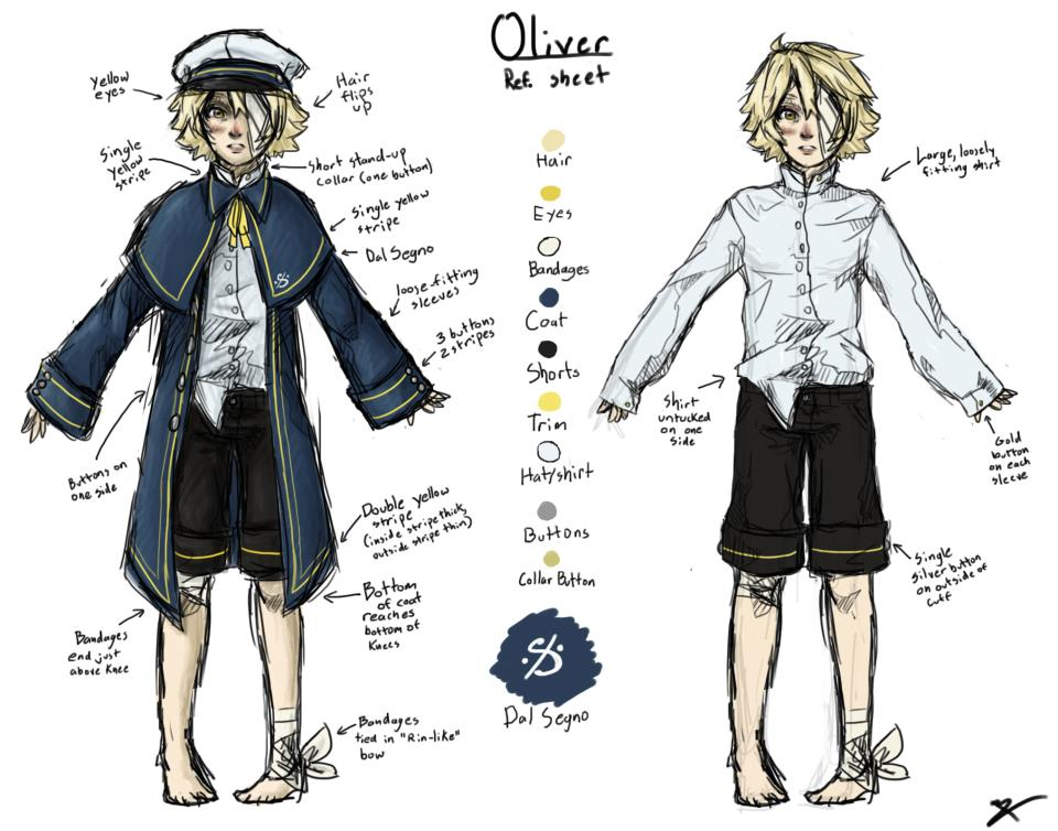 Oliver's デザイン