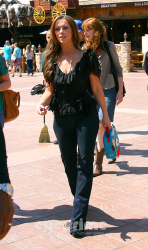 On The Set Of The Client List in Los Angeles [3 April 2012]