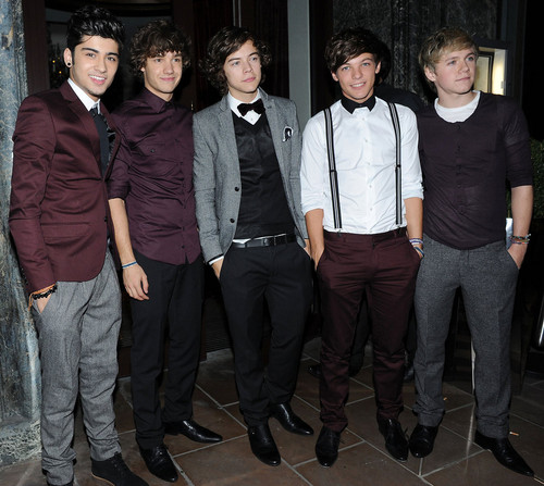 One direction wearing shoes