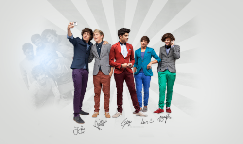 one direction fondo de pantalla probably with a well dressed person titled One Direction <3