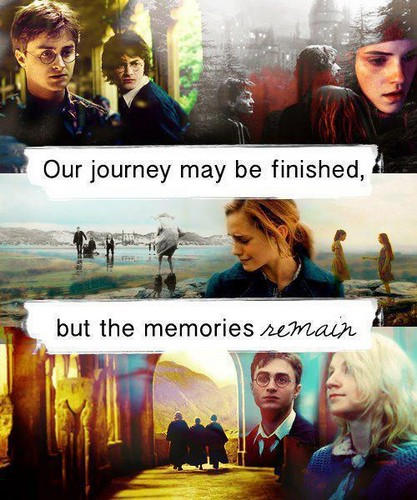 Our journey may be finished but the memories remain