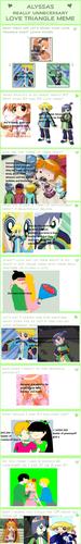 PPGZ l'amour triangle meme