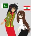 Pakistan & Lebanon