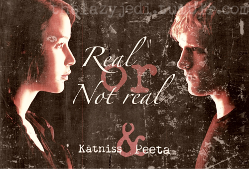 Peeta Mellark wallpaper possibly containing a sign titled Peeta & Katniss