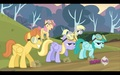 Pegasi Ponies (Including Derpy) - background-ponies photo