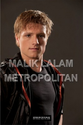 Peeta Mellark and Katniss Everdeen wolpeyper called Promo Pics!