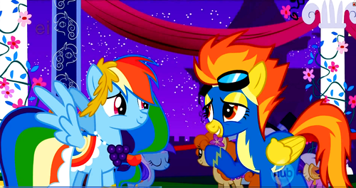 regenbogen Dash and Spitfire