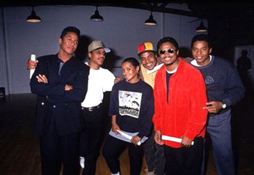 Rebbie With Her Brothers 1994