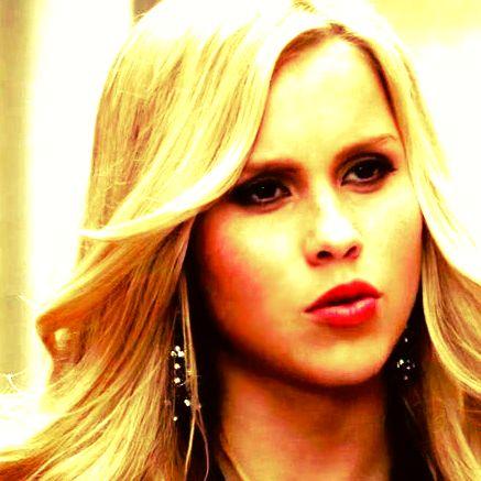 Rebekah in the murder of one talking to Finn!